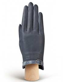 Перчатки женские подкладка из шелка IS124 midnight blue (Eleganzza)