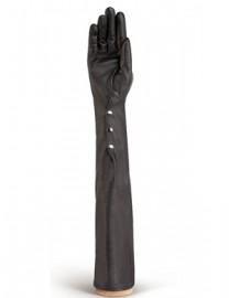 Перчатки женские подкладка из шелка IS12802 black (Eleganzza)
