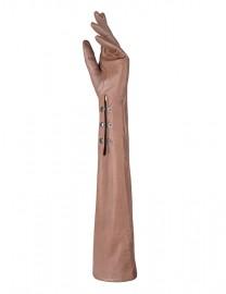 Перчатки женские подкладка из шелка IS12802 taupe (Eleganzza)