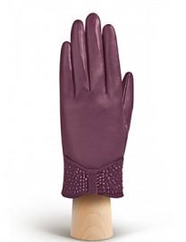 Перчатки женские подкладка из шелка IS20986 amethyst (Eleganzza)