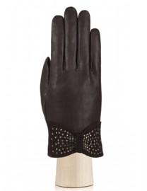 Перчатки женские подкладка из шелка IS20986 mocca (Eleganzza)