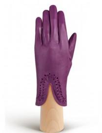 Перчатки женские подкладка из шелка IS228 berry (Eleganzza)