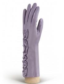 Перчатки женские подкладка из шелка IS229 lavender (Eleganzza)