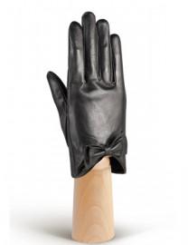 Перчатки женские подкладка из шелка IS233 black (Eleganzza)