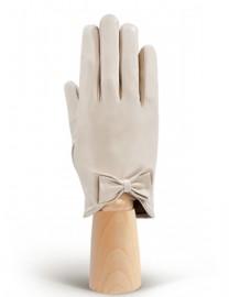 Перчатки женские подкладка из шелка IS233 ivory (Eleganzza)