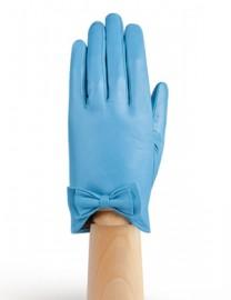 Перчатки женские подкладка из шелка IS233 l.blue (Eleganzza)