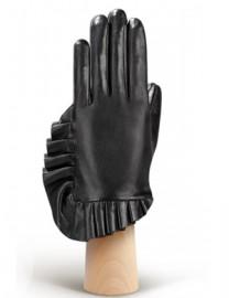 Перчатки женские подкладка из шелка IS256 black (Eleganzza)