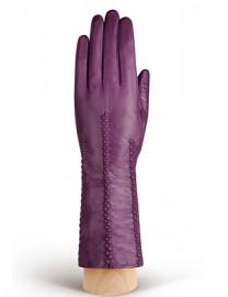 Перчатки женские подкладка из шелка IS259 berry (Eleganzza)