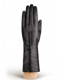 Перчатки женские подкладка из шелка IS259 black (Eleganzza)