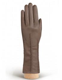 Перчатки женские подкладка из шелка IS259 l.taupe (Eleganzza)