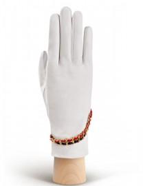 Перчатки женские подкладка из шелка IS293 white (Eleganzza)