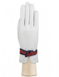 Перчатки женские подкладка из шелка IS302 white (Eleganzza)
