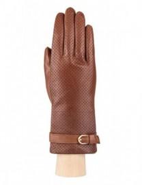 Перчатки женские подкладка из шелка IS303 camel (Eleganzza)
