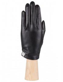 Перчатки женские подкладка из шелка IS328 black (Eleganzza)