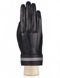 Перчатки женские подкладка из шелка IS402 black (Eleganzza)
