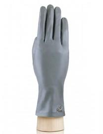 Перчатки женские подкладка из шелка IS55-R grey (Eleganzza)