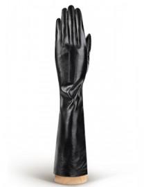 Перчатки женские подкладка из шелка IS598 black shine (Eleganzza)