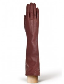 Перчатки женские подкладка из шелка IS598 luggage (Eleganzza)