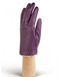 Перчатки женские подкладка из шелка IS6500 amethyst (Eleganzza)