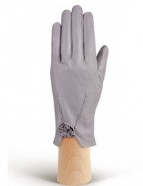 Перчатки женские подкладка из шелка IS6758 l.grey (Eleganzza)