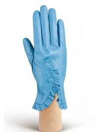 Перчатки женские подкладка из шелка IS6821 l.blue (Eleganzza)