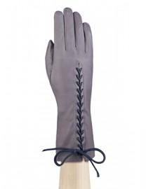 Перчатки женские подкладка из шелка IS737 l.grey (Eleganzza)