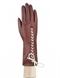 Перчатки женские подкладка из шелка IS737 luggage (Eleganzza)