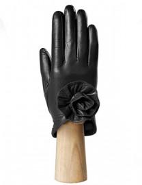 Перчатки женские подкладка из шелка IS7593 black (Eleganzza)