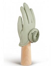 Перчатки женские подкладка из шелка IS7593 jade (Eleganzza)