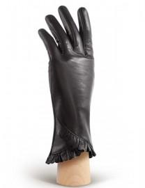 Перчатки женские подкладка из шелка IS803 black (Eleganzza)