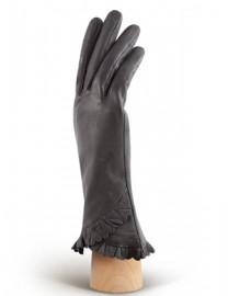 Перчатки женские подкладка из шелка IS803 grey (Eleganzza)