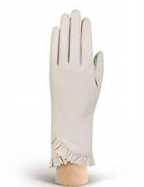 Перчатки женские подкладка из шелка IS803 ivory (Eleganzza)