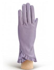 Перчатки женские подкладка из шелка IS803 lavender (Eleganzza)