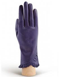 Перчатки женские подкладка из шелка IS803 violetblue (Eleganzza)