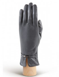 Перчатки женские подкладка из шелка IS851 d.grey (Eleganzza)