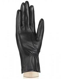 Перчатки женские подкладка из шелка TOUCH F-IS5500 black (Eleganzza)
