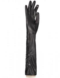 Перчатки женские подкладка из шелка TOUCH IS08002 black (Eleganzza)