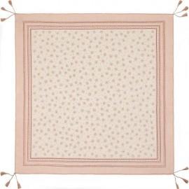 Платок женские хл+шелк 100х100 H22-1513-03 (Eleganzza)