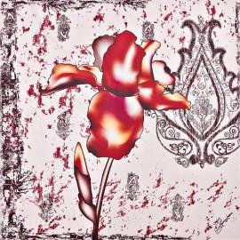 Платок женские мод+каш 140х140 H15-1516-08 (Eleganzza)