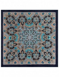 Платок женские шелк 125х125 B01-3180-11 (Eleganzza)