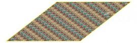 Платок женские шелк 46х106 D04-1121-16 (Eleganzza)