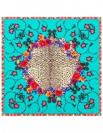 Платок женские шелк 55х55 B03-120727-11 (Eleganzza)