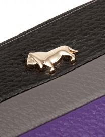 Визитница Labbra LA13-005 black/grey/purple (Labbra)
