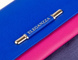 Визитница ZX3119-2984 blue/rose/grey (Eleganzza)
