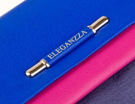 Визитница ZX3119-2984 blue/rose/grey (Eleganzza)