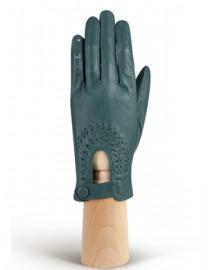 Водительские перчатки кожаные без пальцев IS335 cyclone (Eleganzza)