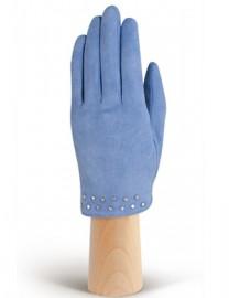Зимние кожаные женские перчатки подкладка из шелка IS02011-R surf (Eleganzza)