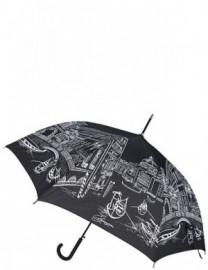 Зонт Eleganzza женский трость 05-0200 01