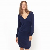 Платье короткое из трикотажа
