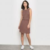 Ажурное платье с декольте на спине